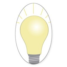 Light Bulb Decal