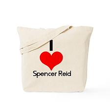 I Heart Spencer Reid 2 Tote Bag