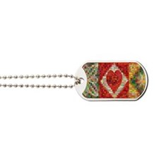 Heart Patchwork Lov... Dog Tags