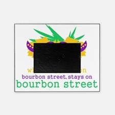 What Happens on Bourbon Street Picture Frame