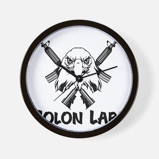 Molon Labe Eagle Wall Clock