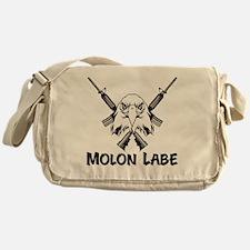 Molon Labe Eagle Messenger Bag