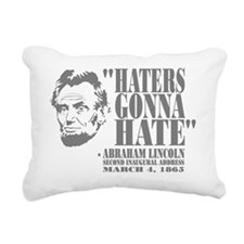 Lincoln Rectangular Canvas Pillow