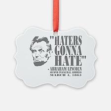 Lincoln Ornament