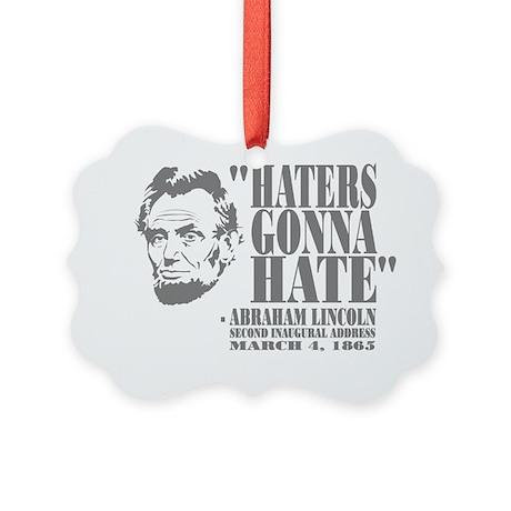 Lincoln Picture Ornament