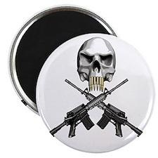 Skull Bullet teeth Magnet