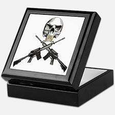 Skull Bullet teeth Keepsake Box