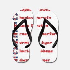 Science Thanks The English! Flip Flops