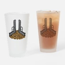Bullet Pile Drinking Glass