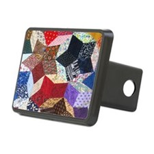 Tumbling Blocks Patchwork  Hitch Cover