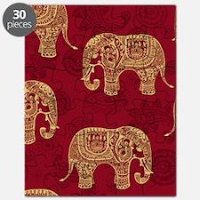 Beautiful Elephant Pattern Puzzle