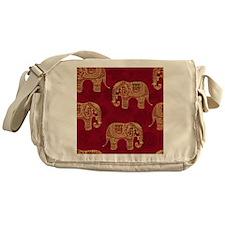 Beautiful Elephant Pattern Messenger Bag