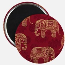 Beautiful Elephant Pattern Magnet