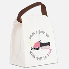 When I Grow Up Canvas Lunch Bag