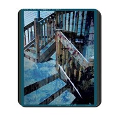 The Old Rugged Steps Mousepad