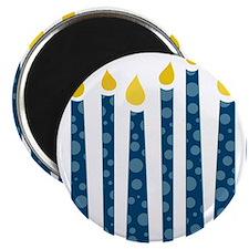 Hanukkah Candles Magnet