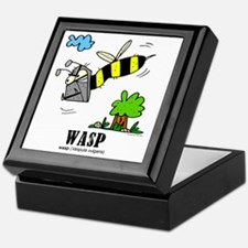 Cartoon Wasp by Lorenzo Keepsake Box