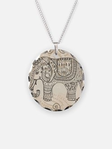 Vintage Elephant Necklace