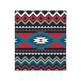 Aztec patterns Blankets