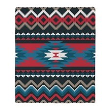 Native Pattern Throw Blanket