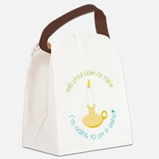 Let It Shine Canvas Lunch Bag