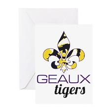 Louisiana Tigers Greeting Card
