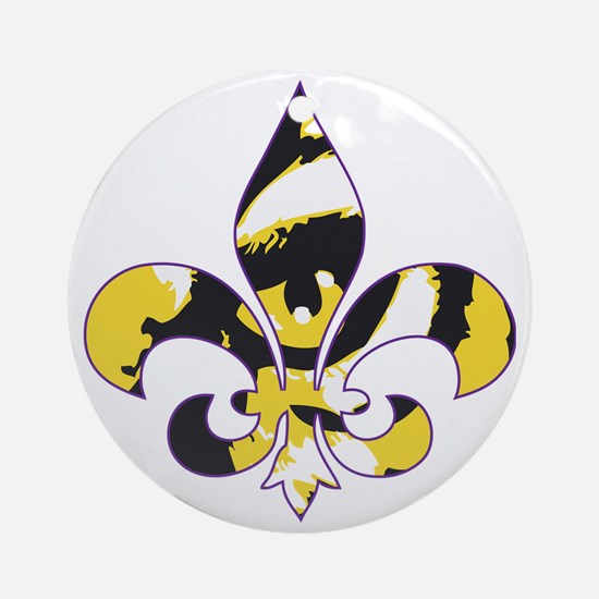 Tigers Round Ornament