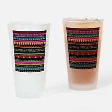 Native Pattern Drinking Glass