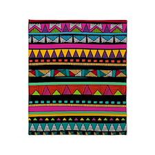 Native Pattern Throw Blanket