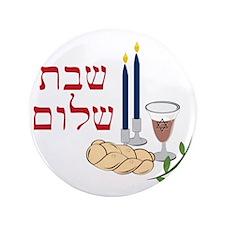"Shabbat 3.5"" Button"