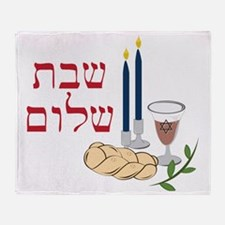 Shabbat Throw Blanket