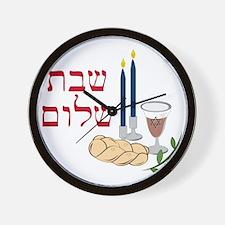 Shabbat Wall Clock