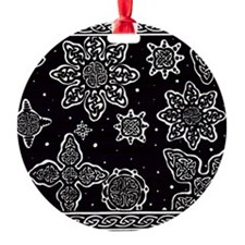 Celtic Snowflakes Ornament