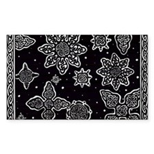 Celtic Snowflakes Decal