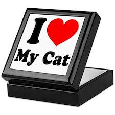 I Love My Cat: Keepsake Box