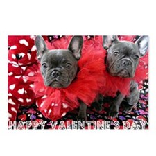 Valentine's Day card Postcards (Package of 8)