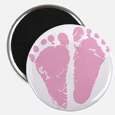 Pink Feet Magnet