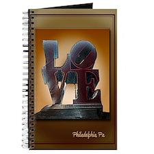 Philadelphia, Pa Love Statue Journal