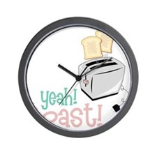 Toaster Wall Clock
