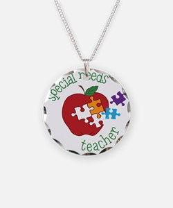 Special Needs Teacher Necklace