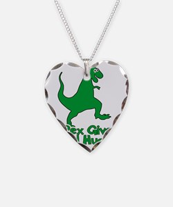 T-Rex Gives Bad Hugs Necklace