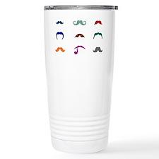 Mustaches Travel Mug