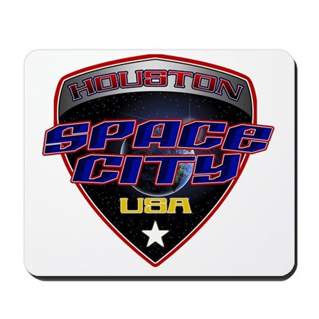 Houston Space City Mousepad