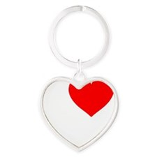 I Love My Cats: Heart Keychain