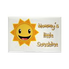 Mommys little sunshine Rectangle Magnet