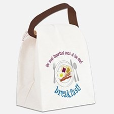 Important Meal Canvas Lunch Bag