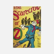 The Scarecrow of Oz Book Cover Rectangle Magnet