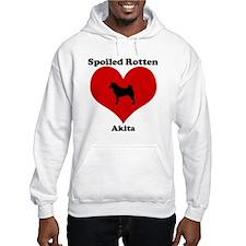 Spoiled Rotten Akita Hoodie