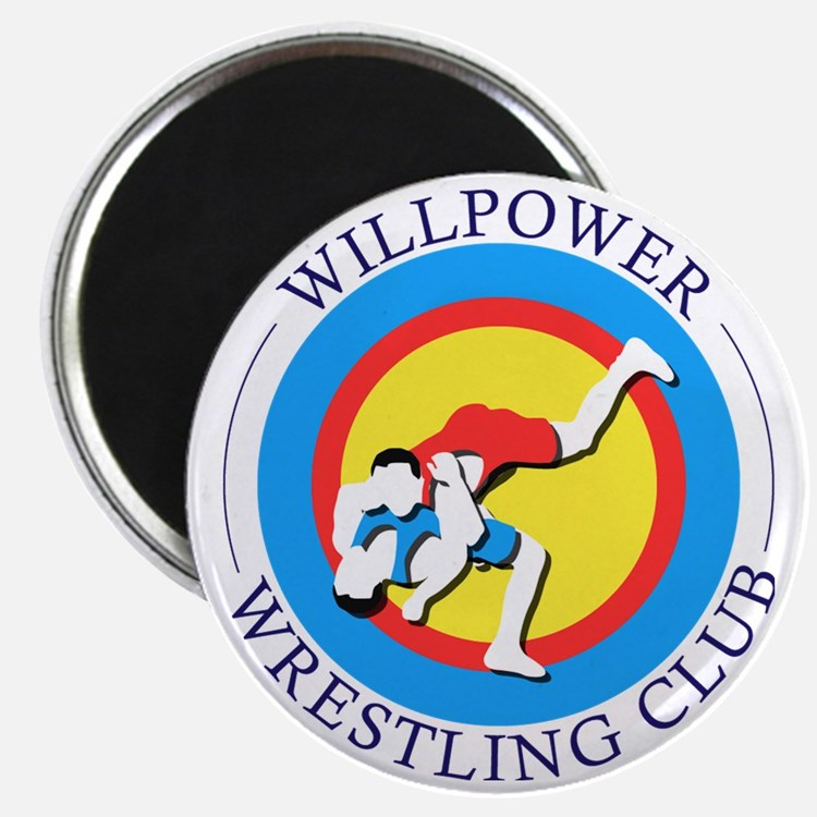Willpower Wrestling Club Magnet