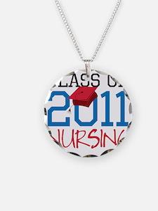 Nursing Necklace Circle Charm